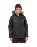 XTM Olena Womens Ski Jacket-8-Black Denim-aussieskier.com