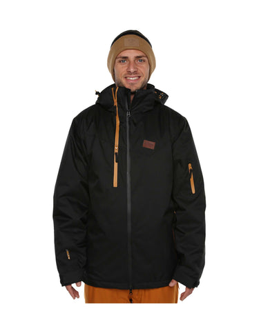 Image of XTM Zeus Ski Jacket-Small-Black-aussieskier.com