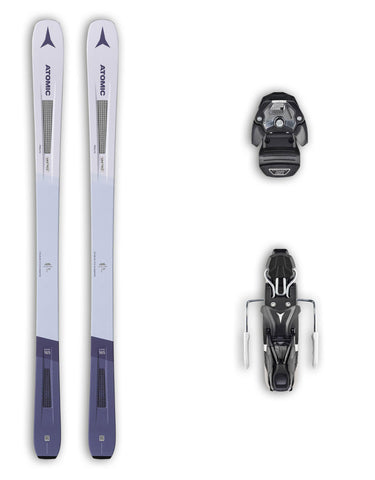 Atomic Vantage 86 C W Womens Skis + Atomic Warden 11 MNC Bindings Package 2020-149cm-aussieskier.com