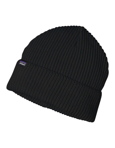 Image of Patagonia Fishermans Rolled Beanie-Black-aussieskier.com
