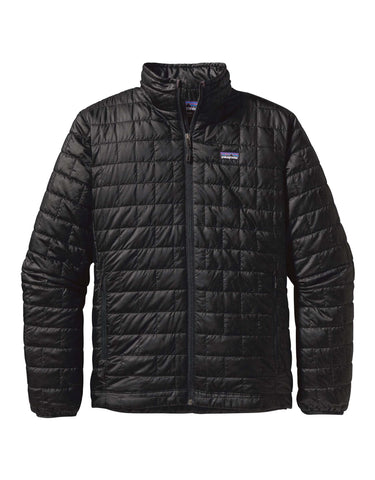 Image of Patagonia Nano Puff Jacket-Small-Black-aussieskier.com