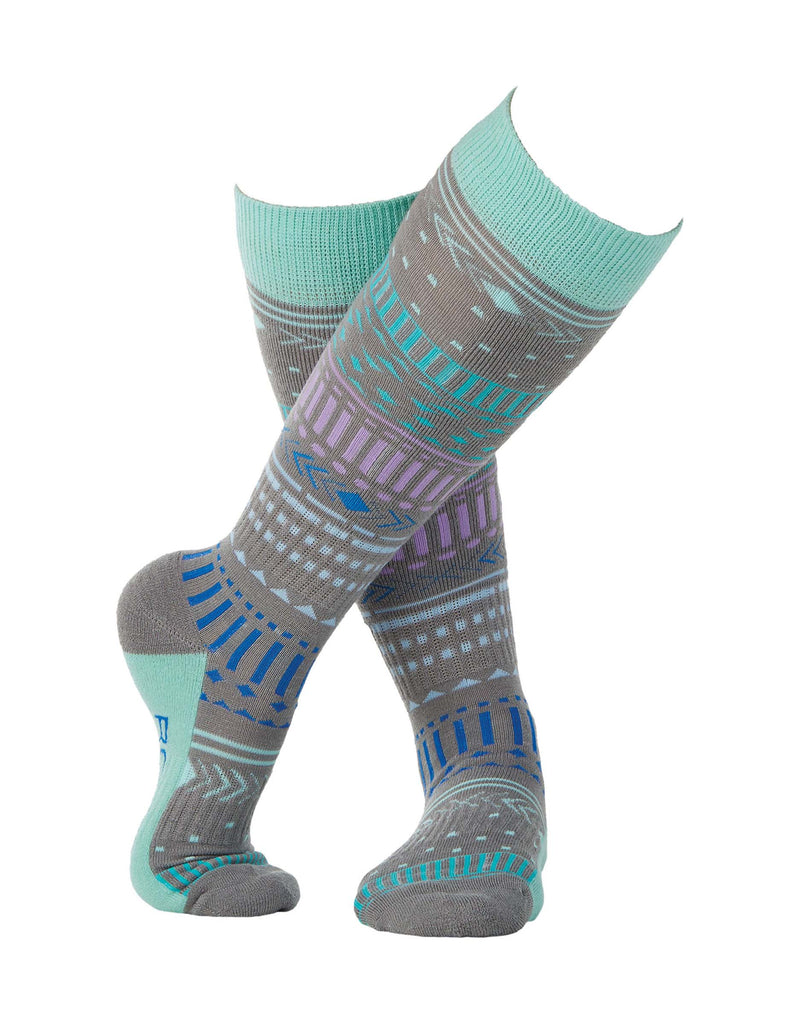 Rojo Wildlings Womens Ski Socks-38 - 41-Alloy-aussieskier.com