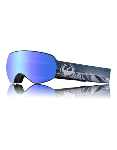 Dragon X2s Ski Goggles w/ Interchangeable Lens-Realm / Lumalens Blue Ion + Lumalens Amber Spare Lens-aussieskier.com