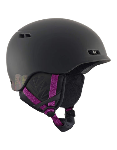 Image of Anon Griffon Womens Ski Helmet-Black-Small-aussieskier.com