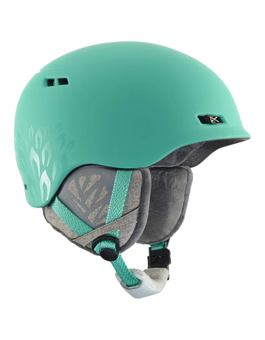 Image of Anon Griffon Womens Ski Helmet-Empress Teal-Medium-aussieskier.com