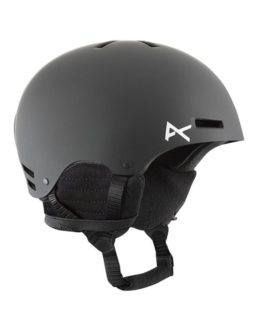 Image of Anon Rime Junior Ski Helmet-Black-Small / Medium-aussieskier.com