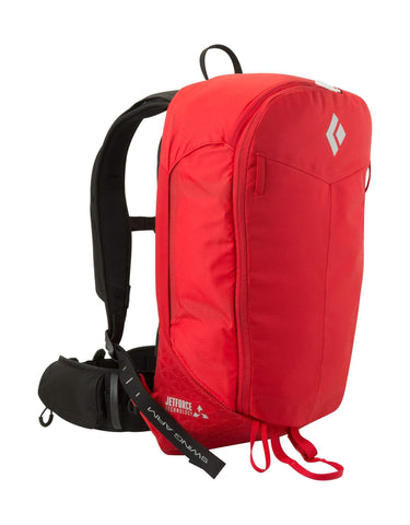 Black Diamond Pilot 11 Jetforce Avalanche Airbag Backpack-Medium / Large-Red-aussieskier.com