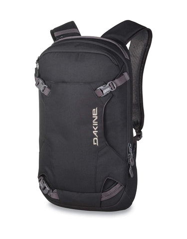 Dakine Heli Pack 12L Mens Backpack-Black-aussieskier.com