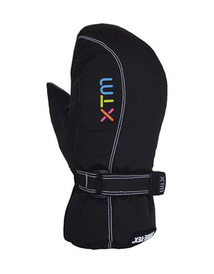 XTM Buttermilk Gore-Tex Kids Mittens-Large-Black-aussieskier.com