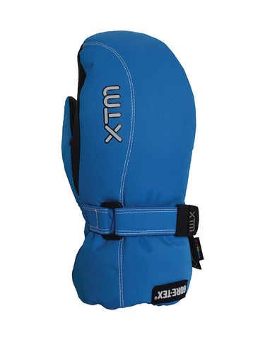 XTM Buttermilk Gore-Tex Kids Mittens-Large-French Blue-aussieskier.com