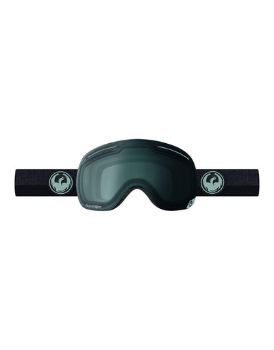 Dragon X1 Ski Goggles-Flux Black / Transitions Clear Lens-aussieskier.com