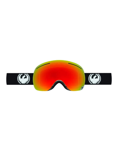 Dragon X1 Ski Goggles-Inverse / Red Ion Lens + Yellow Blue Ion Spare Lens-aussieskier.com