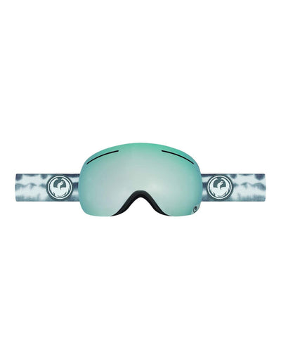 Dragon X1 Ski Goggles-Onus Grey / Mirror Ion Lens + Yellow Red Ion Spare Lens-aussieskier.com