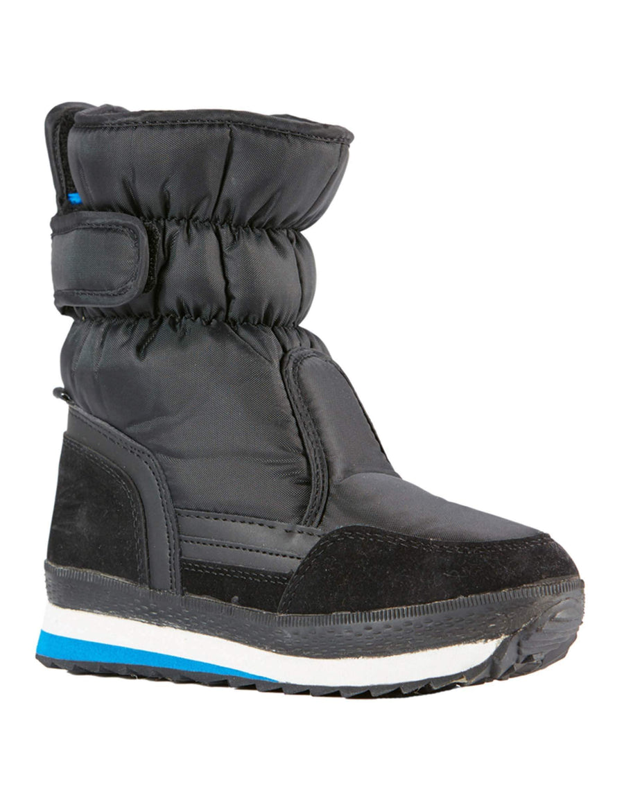 Elude Boys Pace Boots-32-True Black / Brilliant Blue-aussieskier.com