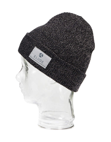 Image of Elude Sham Wow Pow Mens Beanie-True Black-aussieskier.com