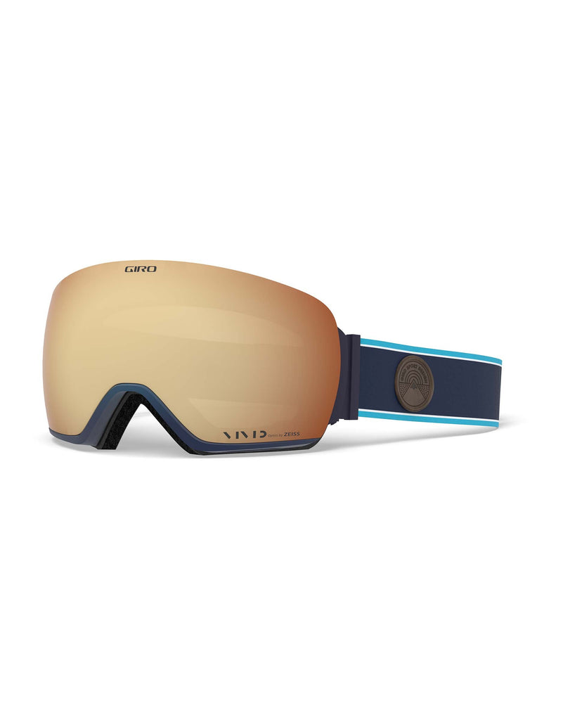 Giro Article Ski Goggles-Midnight Element / Vivid Copper Lens + Vivid Infrared Spare Lens-aussieskier.com