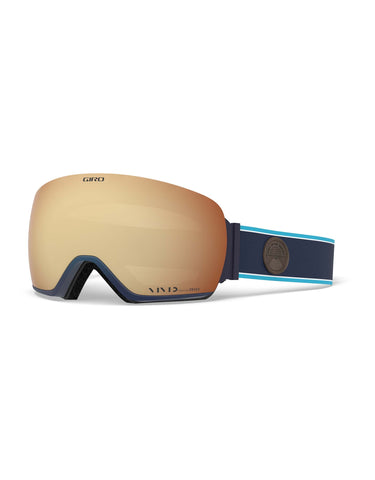 Image of Giro Article Ski Goggles-Midnight Element / Vivid Copper Lens + Vivid Infrared Spare Lens-aussieskier.com