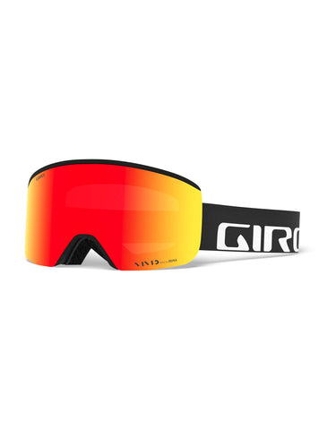 Image of Giro Axis Ski Goggles-Black Wordmark / Vivid Ember Lens + Vivid Infrared Spare Lens-aussieskier.com
