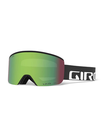 Image of Giro Axis Ski Goggles-Black Wordmark / Vivid Emerald Lens + Vivid Infrared Spare Lens-aussieskier.com
