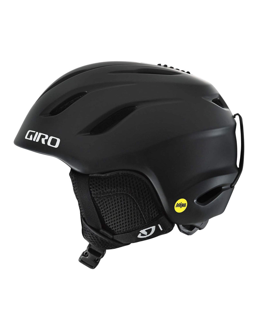 Giro Nine MIPS Junior Ski Helmet-Small-Matte Black-aussieskier.com