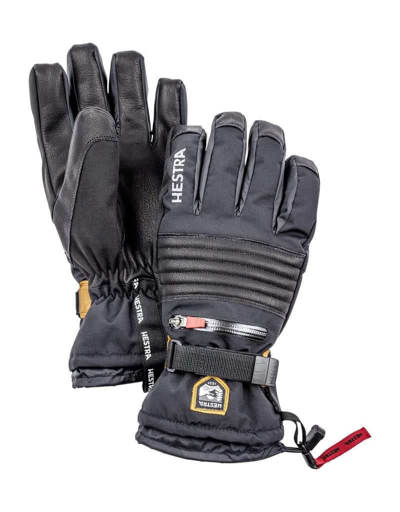 Hestra All Mountain CZone Gloves-6-Black-aussieskier.com