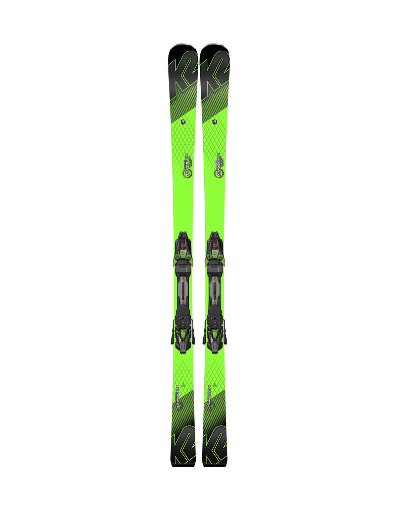 K2 Super Charger Skis + Marker MXCell 12 TCx Bindings 2018-aussieskier.com