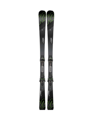 K2 Turbo Charger Skis + Marker MXCell 12 TCx Light Bindings 2018-158cm-aussieskier.com