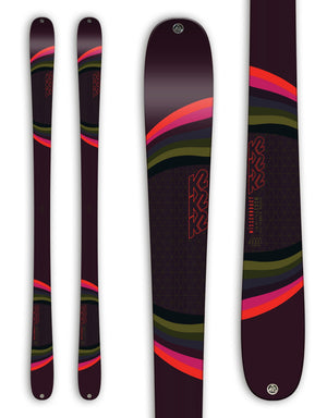 K2 MissConduct Womens Skis 2019-169cm-aussieskier.com