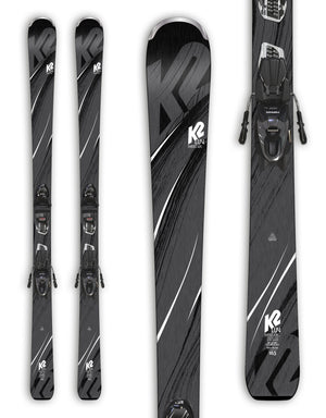 K2 Sweet Luv 76 Womens Skis + ERP 10 Bindings 2019-163cm-aussieskier.com