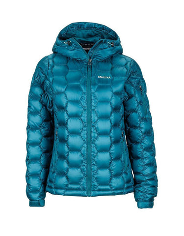 Image of Marmot Ama Dablam Womens Jacket-X Small-Deep Teal-aussieskier.com