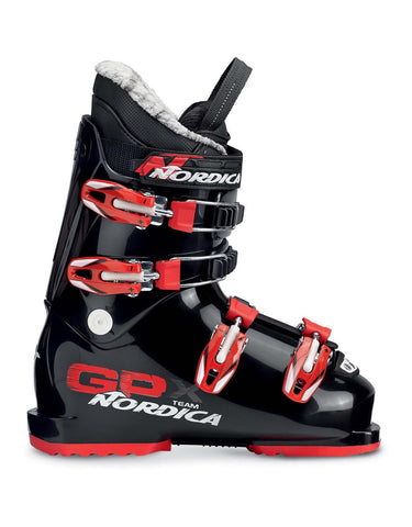 Nordica GPX Team Kids Ski Boots-21.5-Black / Red-aussieskier.com