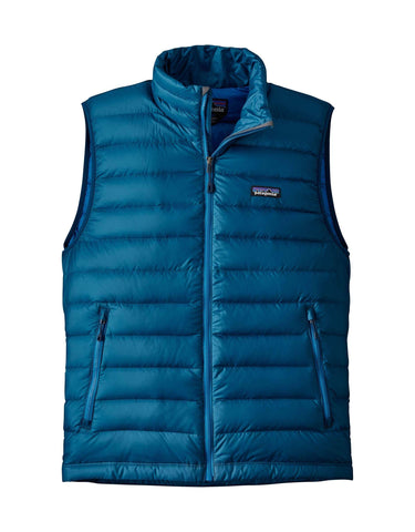 Patagonia Mens Down Sweater Vest-Small-Big Sur Blue-aussieskier.com