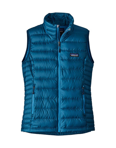 Patagonia Womens Down Sweater Vest-Small-Big Sur Blue-aussieskier.com