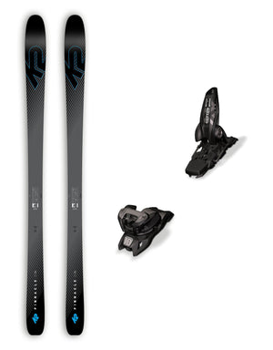 K2 Pinnacle 88 Ti Skis + Marker Griffon ID Bindings Package 2019-aussieskier.com