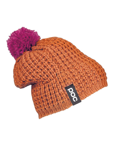 POC Color Beanie-Corp Orange/Neon Pink-aussieskier.com