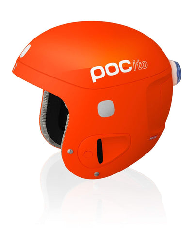 POC POCito Kids Adjustable Helmet - Orange - aussieskier.com - 3