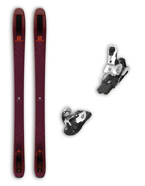Salomon QST 106 Skis + Salomon Warden 13 MNC Bindings Package 2019-aussieskier.com