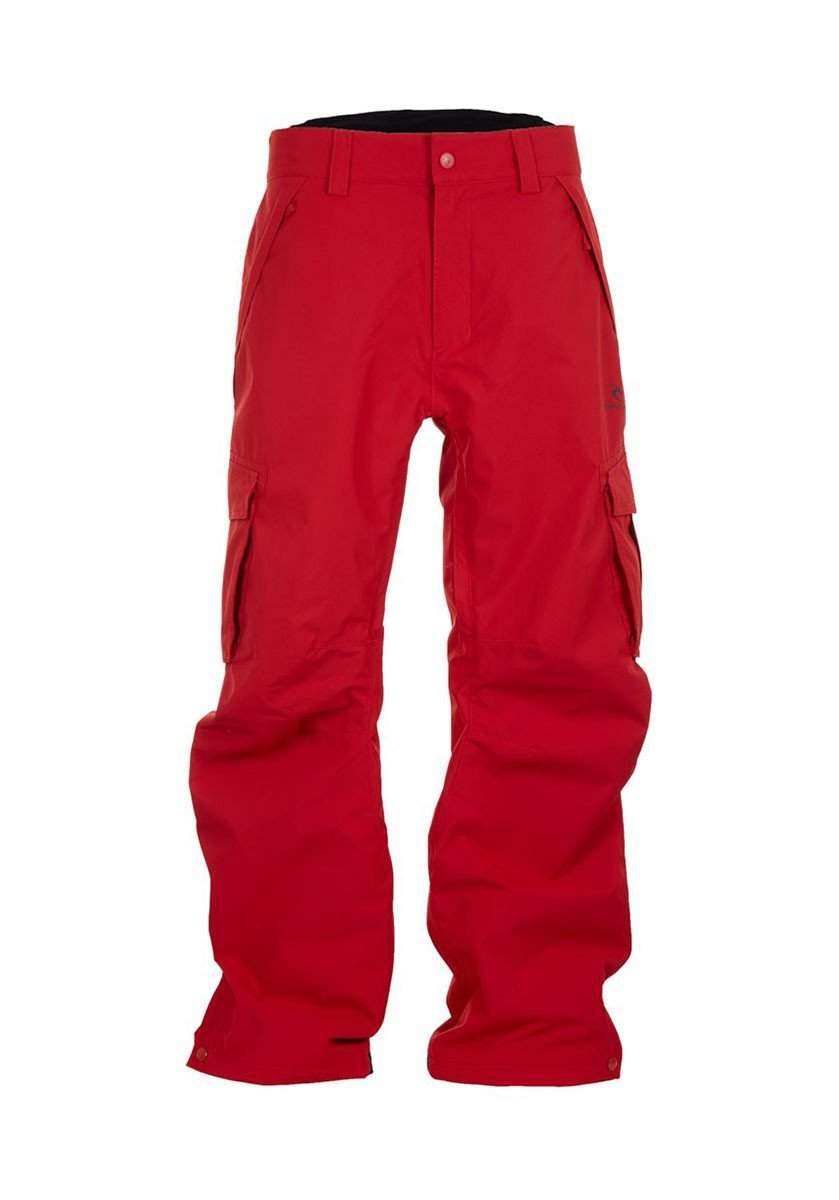 Rip Curl Focker Mens Ski Pants-Small-Chilli Pepper-aussieskier.com