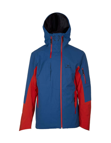 Image of Rip Curl Pro Gum 2.5L Mens Ski Jacket-X Small-Ink Blue-aussieskier.com