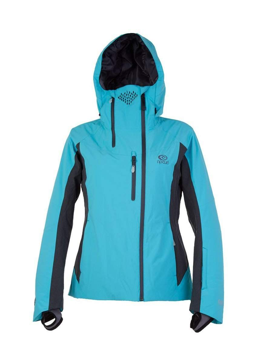 Rip Curl Search Pro Gum Womens Ski Jacket-Small-Iron Gate-aussieskier.com