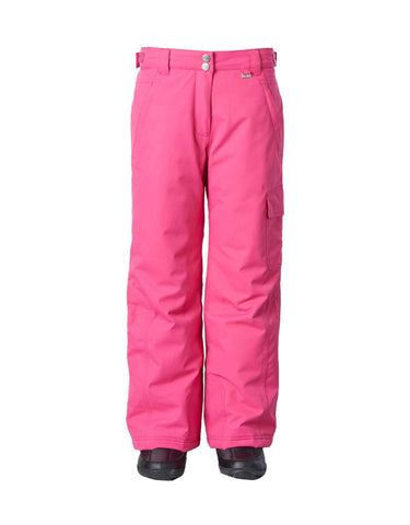 Image of Rojo BF4EVA Girls Ski Pants-4-Passion Pink-aussieskier.com