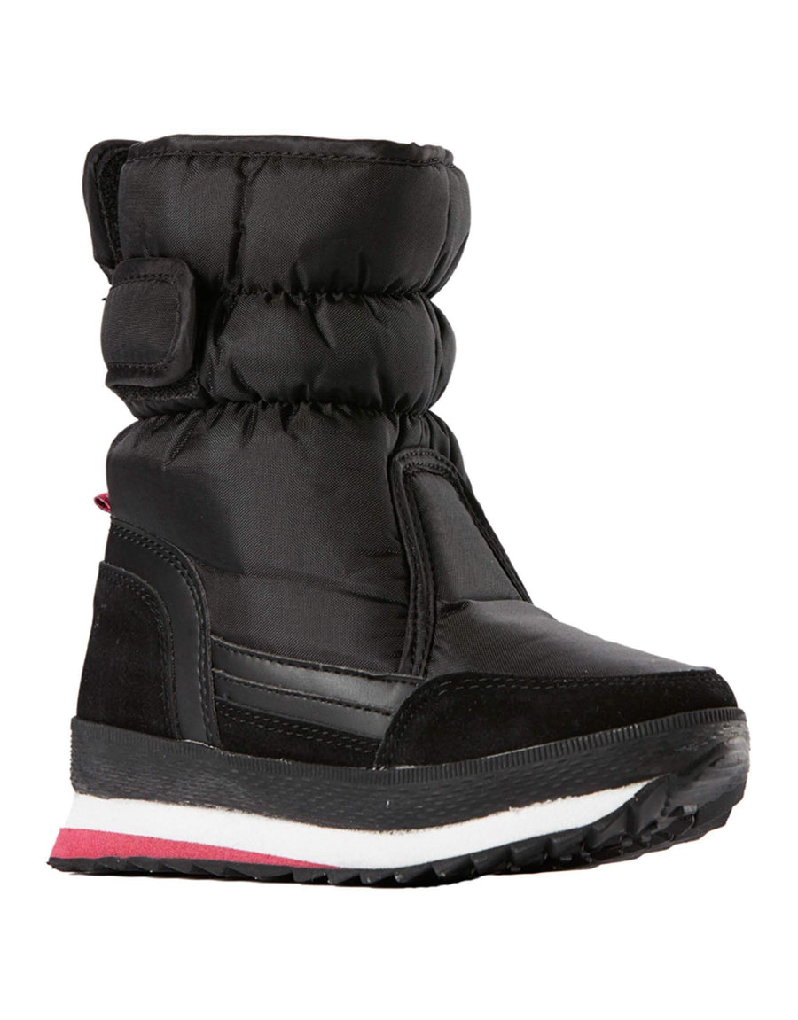 Rojo Girls Pace Boots-28-True Black / Bright Rose-aussieskier.com