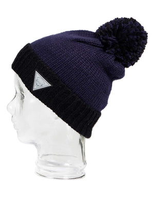 Rojo Old Faithful Womens Knitted Beanie-Blue Nights-aussieskier.com