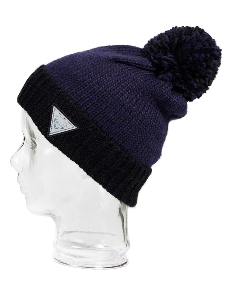 Rojo Old Faithful Womens Knitted Beanie-Grey Marle-aussieskier.com