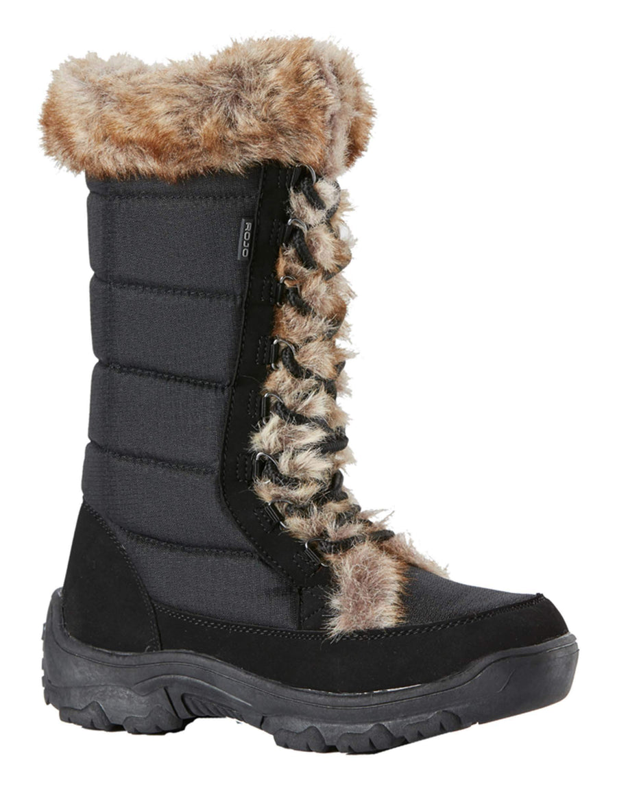 Rojo Snow Fox Girls Boots-33-Off White-aussieskier.com