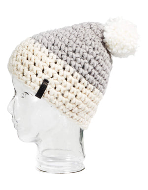 Rojo Twin Tip Womens Knitted Beanie-Alloy-aussieskier.com