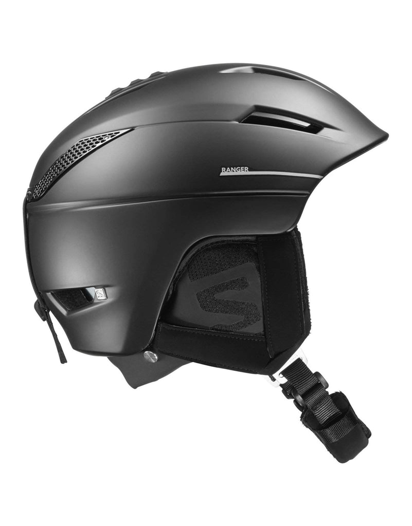 Salomon Ranger 2 4D Custom Air Ski Helmet-Small-Black-aussieskier.com
