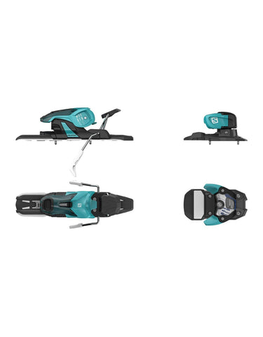 Salomon Warden 11 Bindings-100mm-Turquoise / Black-aussieskier.com