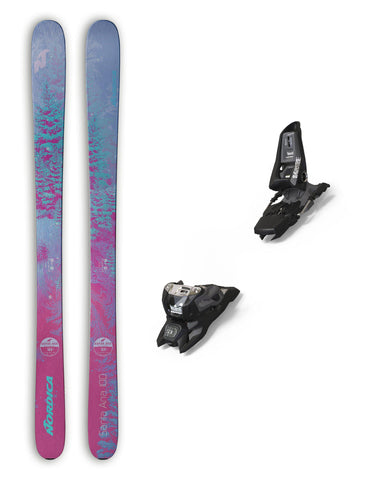 Nordica Santa Ana 100 Womens Skis + Marker Squire Bindings Package 2019-aussieskier.com