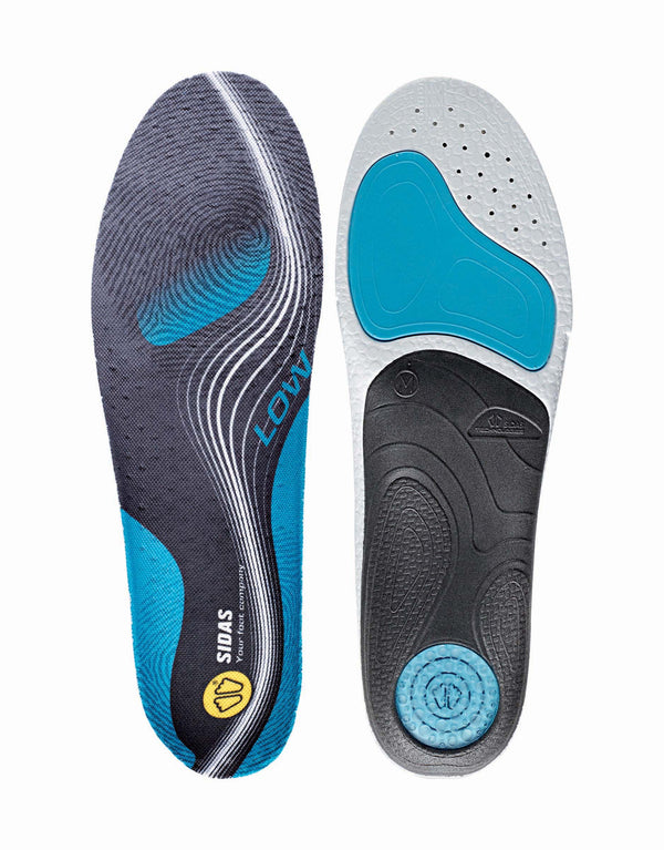 Sidas 3Feet Active Low Prefabricated Insoles-aussieskier.com